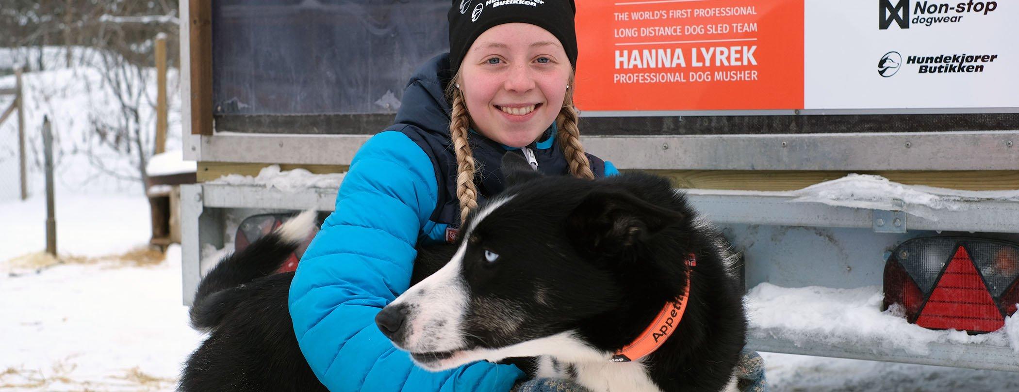 Hanna Lyrek QRILL Pet Mushing Team