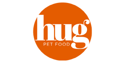 Hug pet food logo
