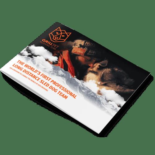 Brochure - QP Mushing Team - Mockup