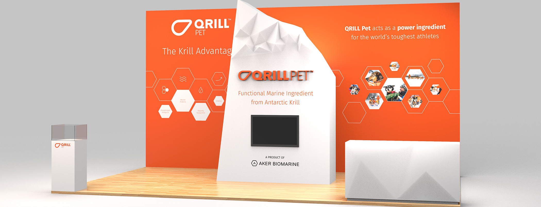 QRILL_Pet_Tradeshow_02 Booth Mock-up
