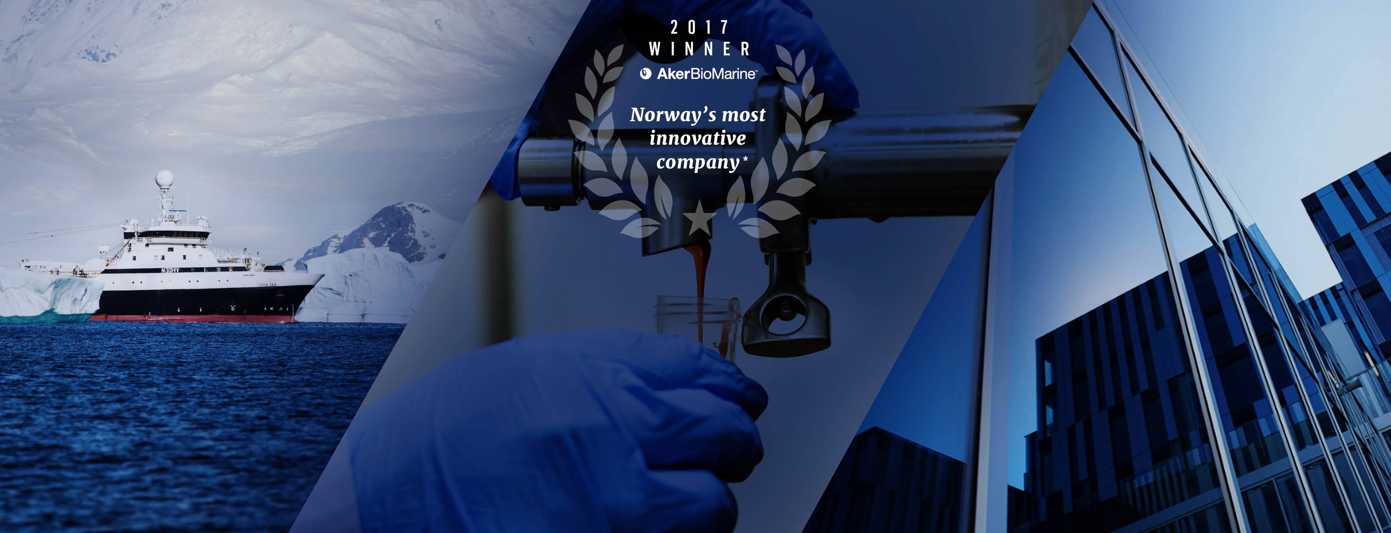 Aker BioMarine Named Most Innovative Business In Norway